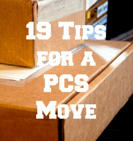 19 tips PCS move
