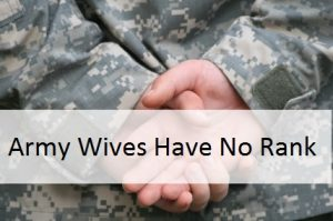Army Wives Rank