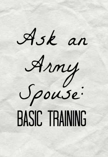 ask an army spouse basic training letters communication