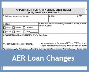 Army Emergency Relief Loans