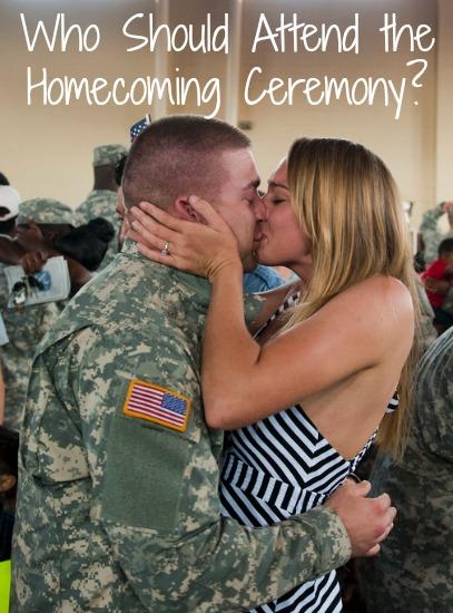 Homecoming Ceremonies Deployment