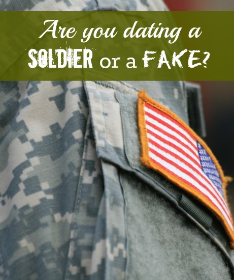 Dating a military man online