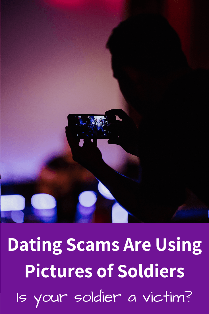 Soldier's Pictures Used in Dating Scams